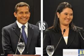 Segunda elección Presidencial Perú 2011.